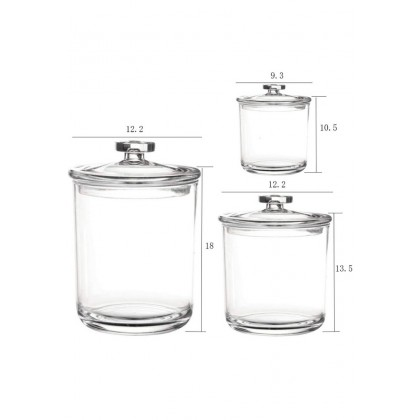 3 in 1 Acrylic Canister